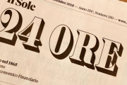 SOLE 24 ORE NEWSPAPER TALKS ABOUT US